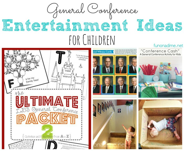 general conference entertainment ideas for kids ... free printable for children, busy activities and more