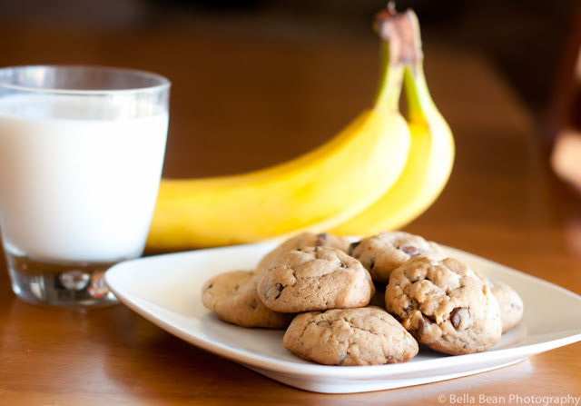 Chocolate Pumpkin Banana Cookies- 3 Simple Ingredients