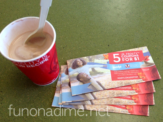 The Dave Thomas Foundation for Adoption Frostys for Families- halloween