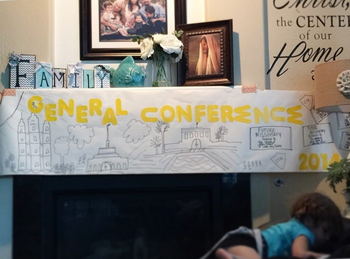 General Conference Ideas For Little Ones