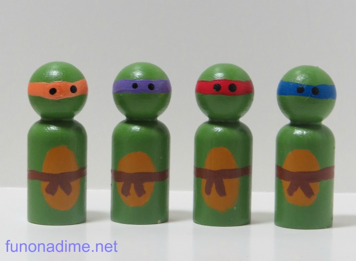 pegdolls ninja turtles
