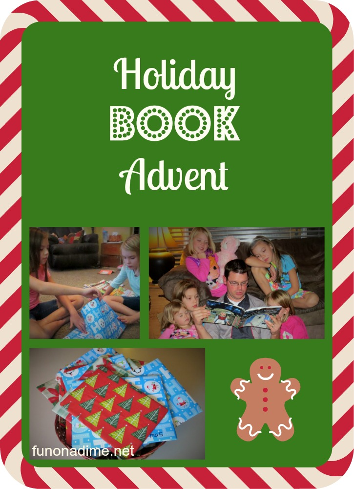 holiday book advent pinterest