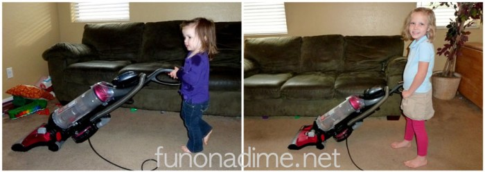 Eureka Vacuum - Toddler Survival Tips