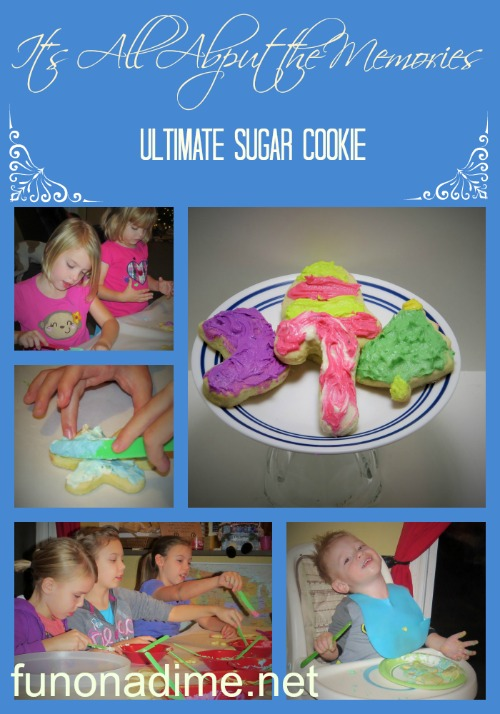The Best Sugar Cookie Recipe: Ultimate Sugar Cookie Recipe: More than just a cookie but memory makers