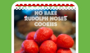 Rudolph Nose No Bake Cookies
