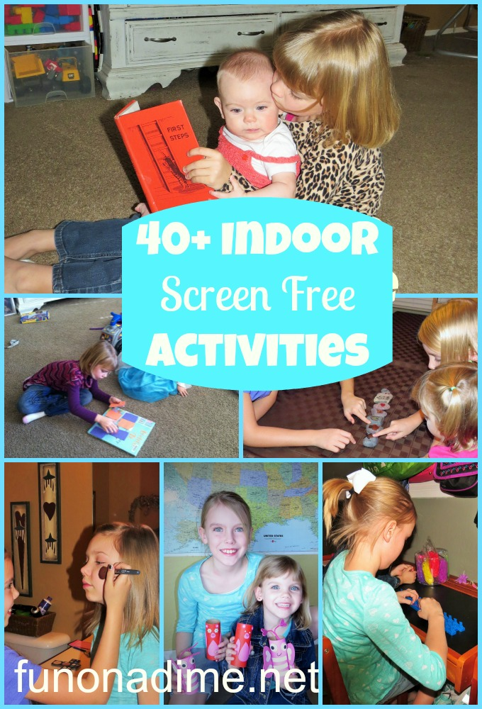 40+ screen free activities