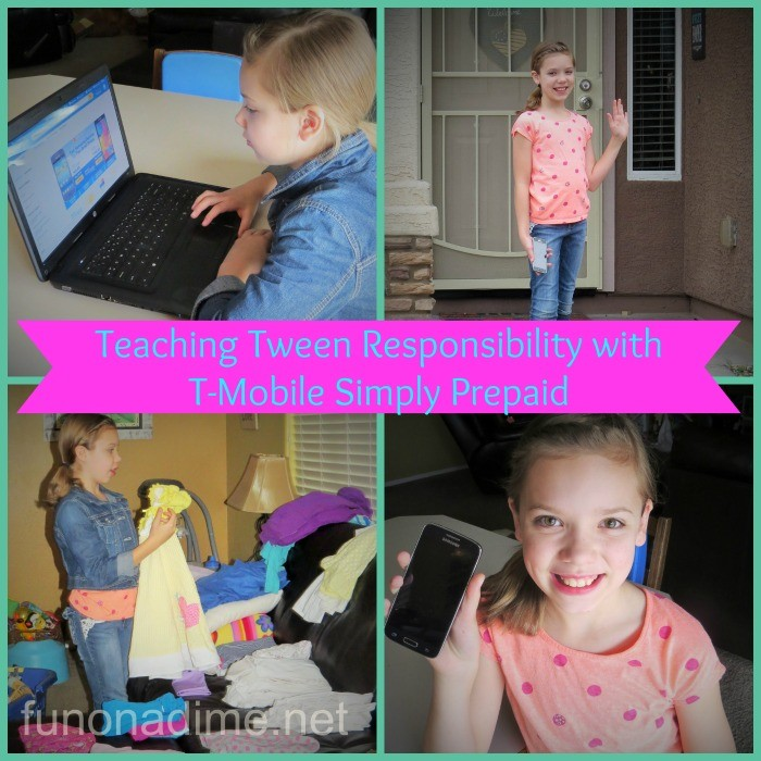 Teaching tween responsibility with tmobile simply prepaid #ChangingPrepaid #Ad