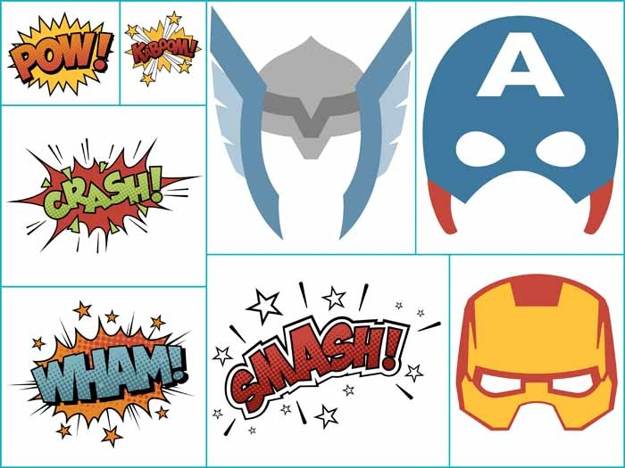Avengers Decoration Ideas