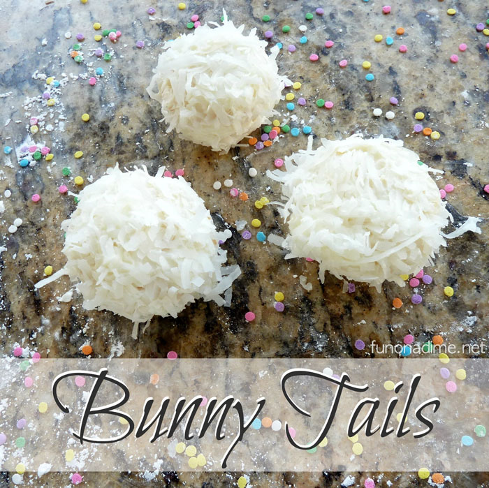 Bunny Tails - Easy cupcake Easter or Spring treat