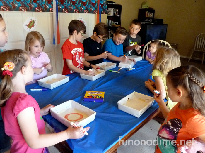 Avengers Movie Party Activities