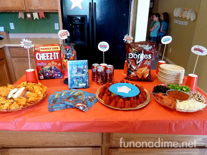 How To Throw The Best Avengers Party