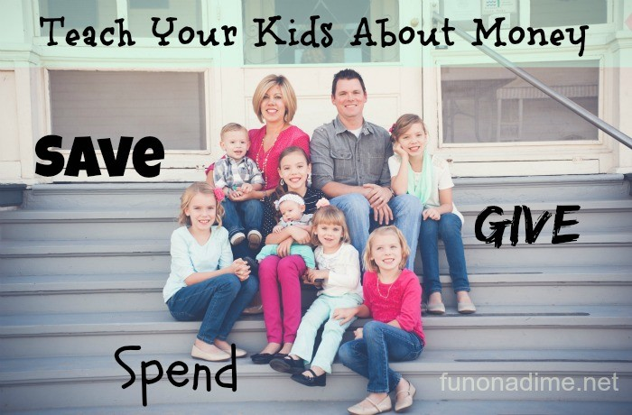 Teach Your Kids About Money Give, Save, Spend #iamprotective #ad