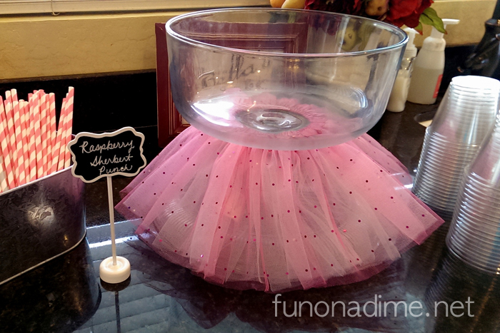 Turn Your Cake Plate Into a Punch Bowl