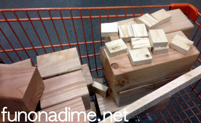 How to make homemade wood blocks