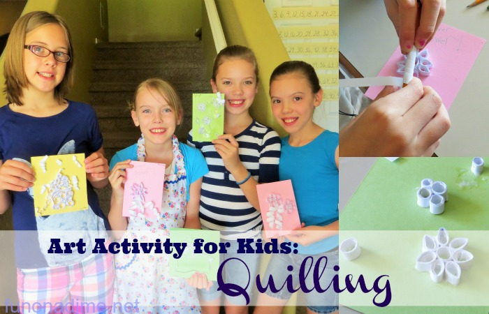 Art Activity for Kids Quilling