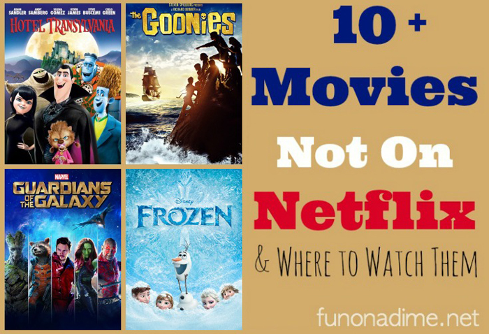 10 Movies not on Netflix and Where to Watch them - VidAngel movie review - Frozen and 9 other movies you can't watch on Netflix and where to watch them