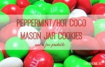 Peppermint/Hot Coco Mason Jar Cookies