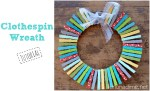 Clothespin Wreath Tutorial