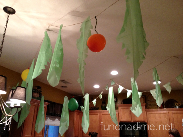 Jungle Theme Birthday Party Decor