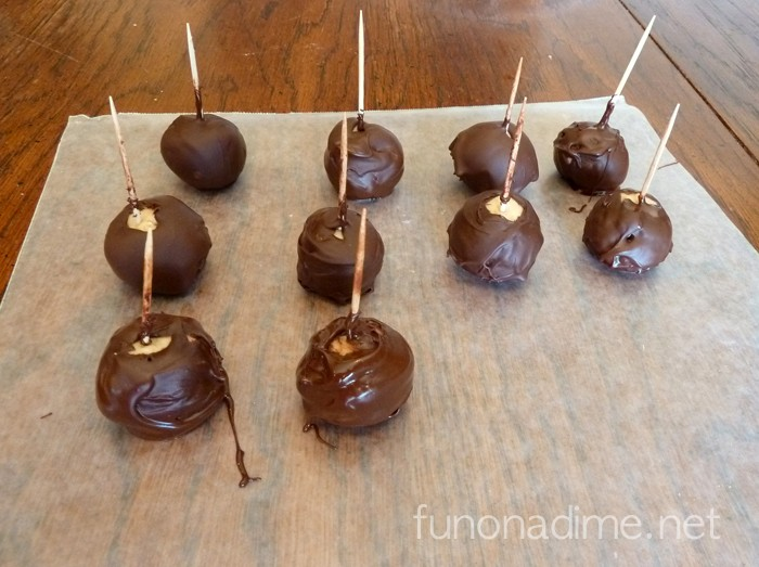 Turkey Peanut Butter Balls