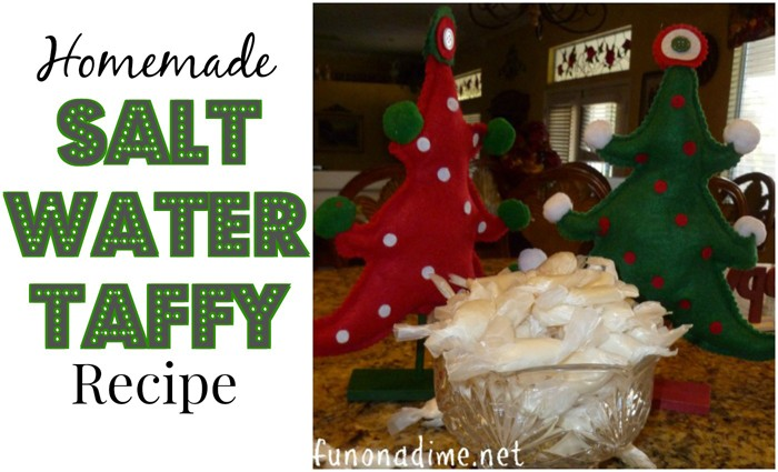 Homemade Salt Water Taffy Recipe