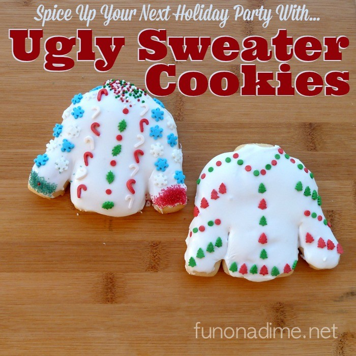 Ugly Sweater Cookies - Tutorial