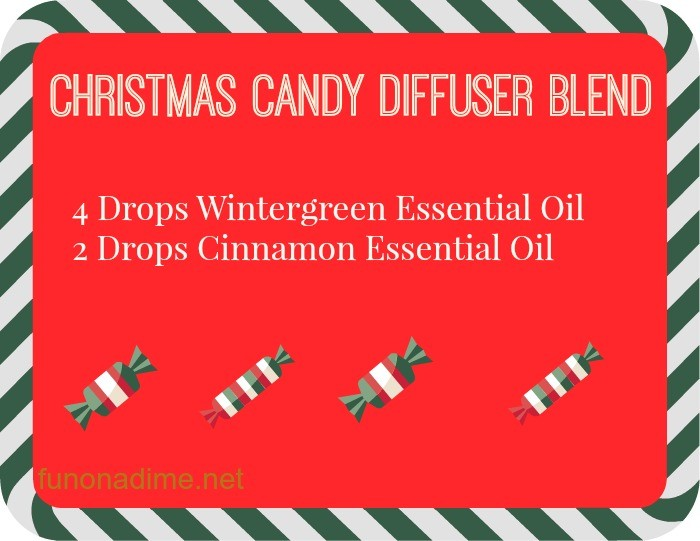 christmas candy diffuser blend