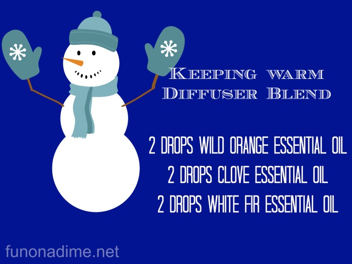 keeping warm diffuser blend