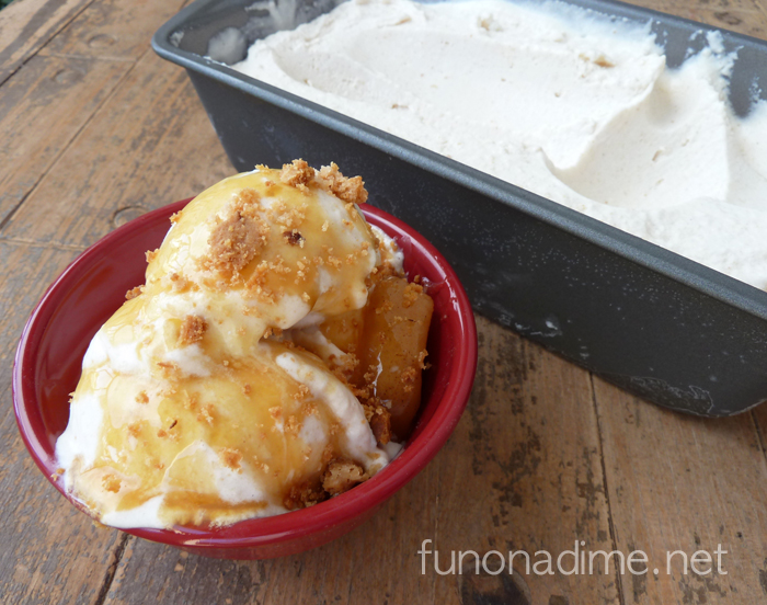 Apple Pie Ice Cream Recipe- Yum!