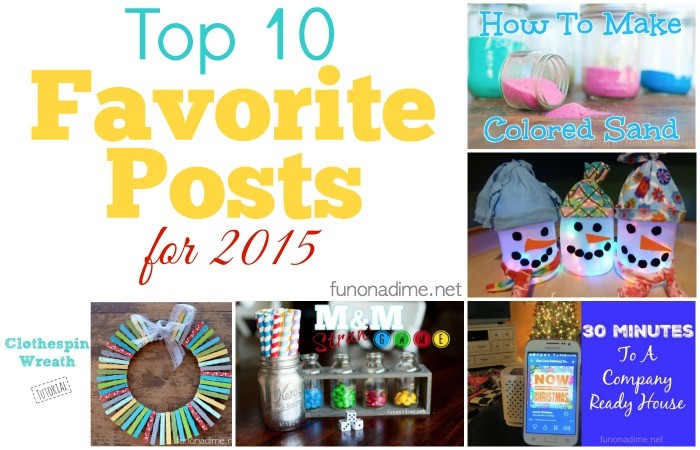 Top 10 Favorite posts for 2015