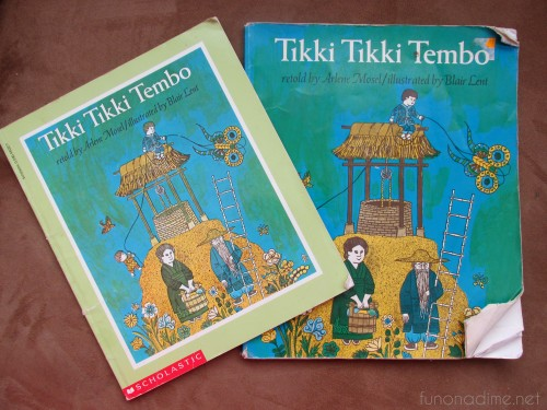 favorite read alouds - tikki