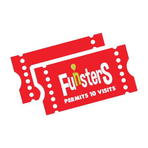 10 PlayTickets for Funsters Playcentres