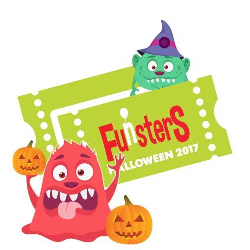Funsters Halloween Ticket