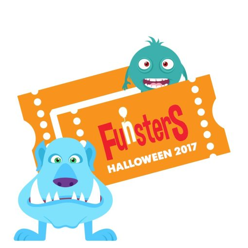 Funsters Halloween Ticket