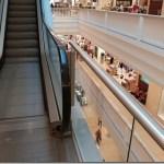 Rolltreppe im Galeria Kaufhof am Alex