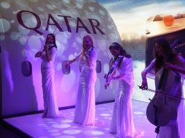 Qatar mit Musik auf der ITB 2017 in Berlin