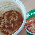 Lecker 5 min Knorr Pasta Snack Gulasch-Sauce