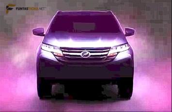 Video acah SUV Perodua (D38L) - 2