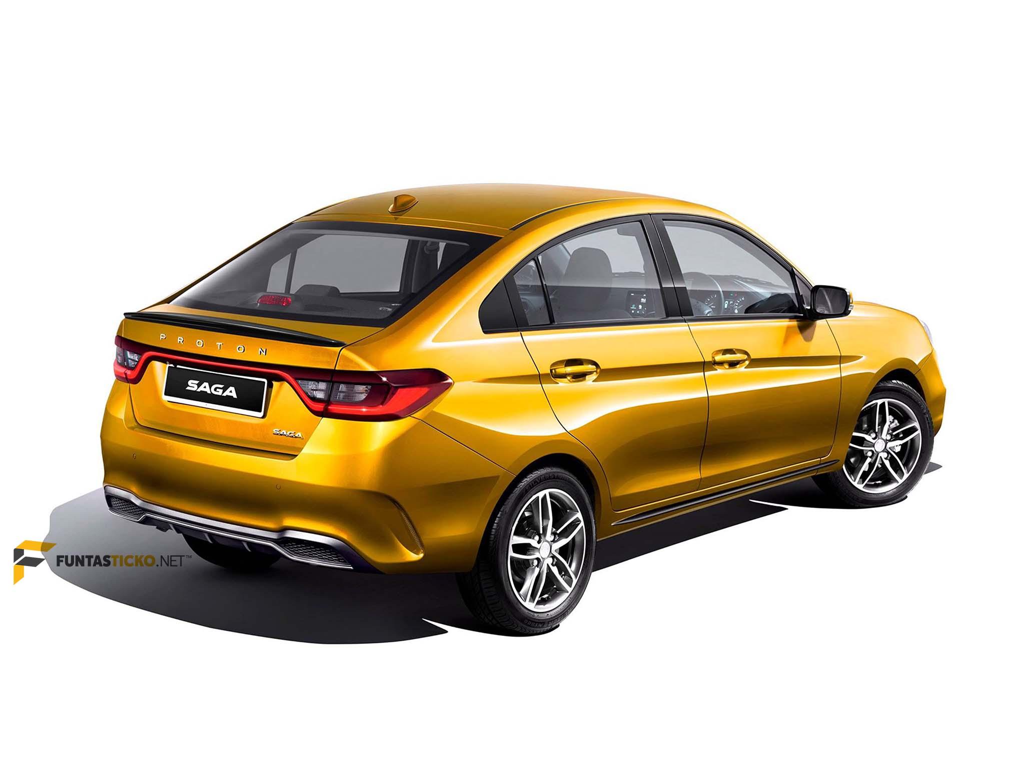 Proton Saga Aeroback Dijelmakan Kembali Secara Digital Funtasticko Net