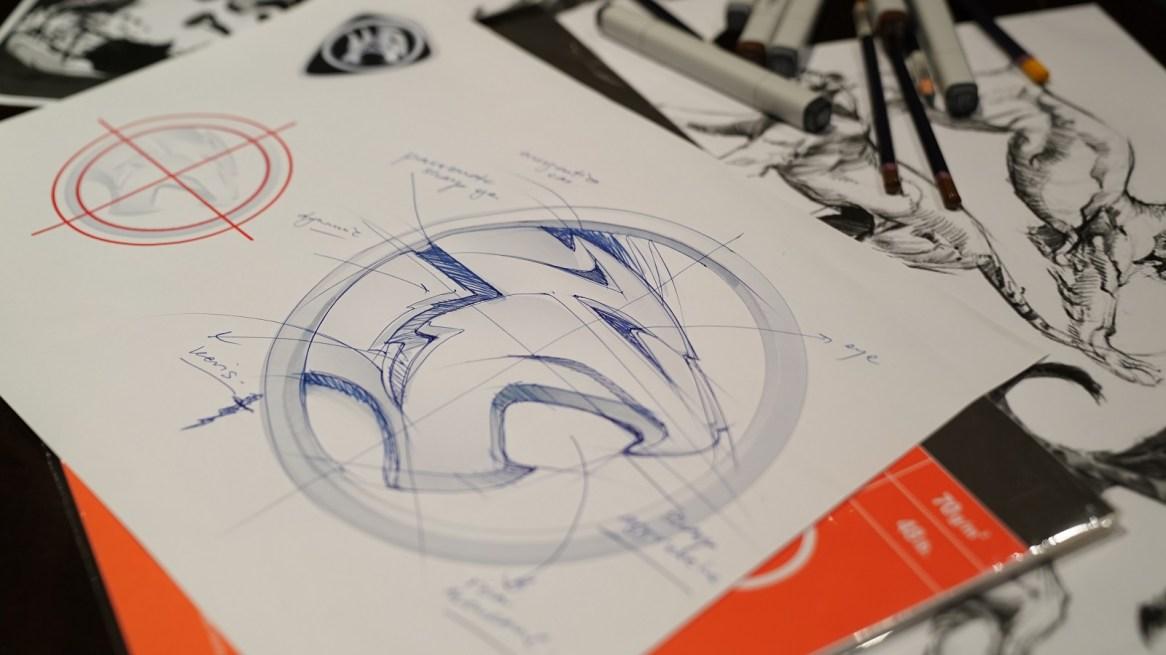 sketch logo baru Proton
