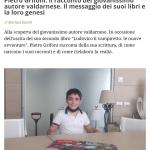 """""""Ludovico il Vampiretto"""": grande attenzione e interesse per il libro di Pietro Grifoni"""