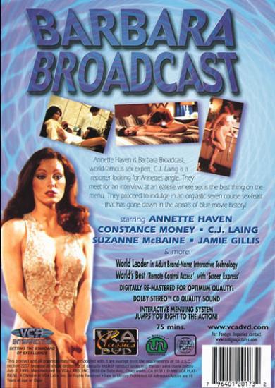 Barbara Broadcast back cover