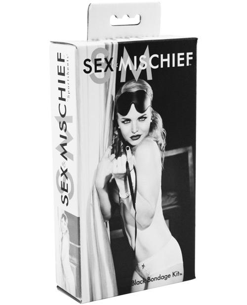 Sex & Mischief Black Bondage Kit