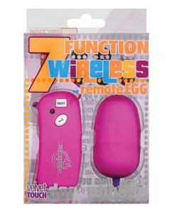 7 Function Remote Egg - Fuchsia