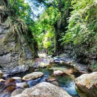 Open-air hot spring
