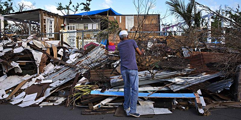 Crise Do Clima – Porto Rico – Meio Milhão De Pessoas Devem Deixar A Ilha Devastada Pelo Furacão Maria