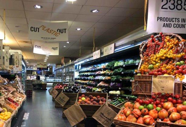 Supermercado Inglês Rejeita Plástico