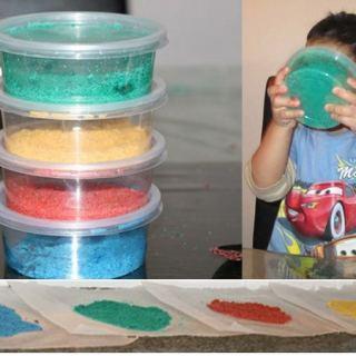 Colored Salt Tutorial