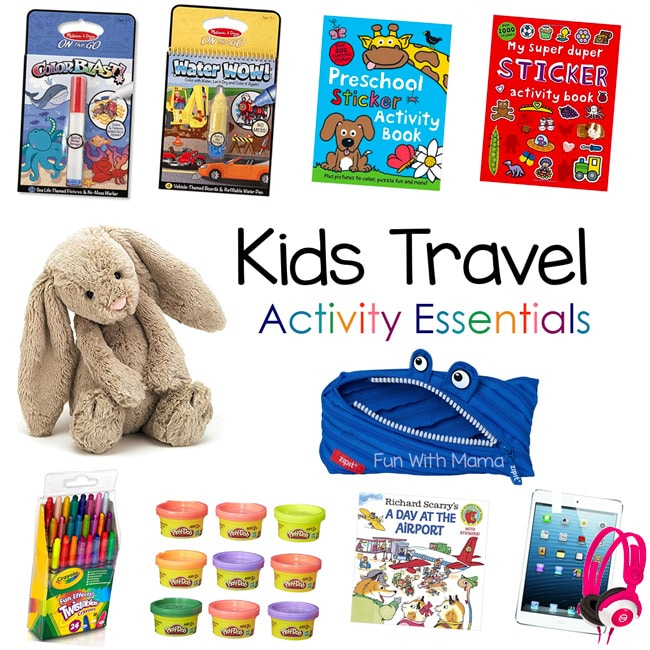 kids travel activities