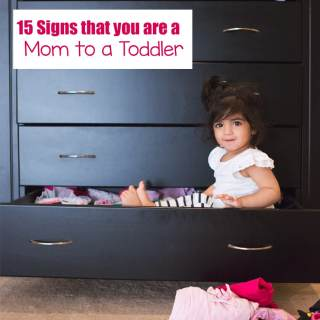 15 Funny Signs That You Are A Mother Of A Toddler